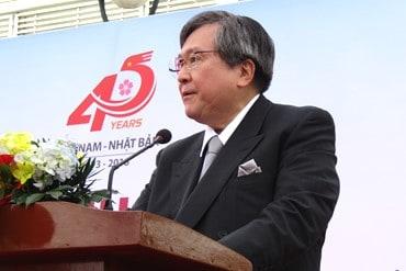 「ベトナムにおける診断技術の画期的な向上に繋がることを期待しています」と挨拶する高木邦格理事長